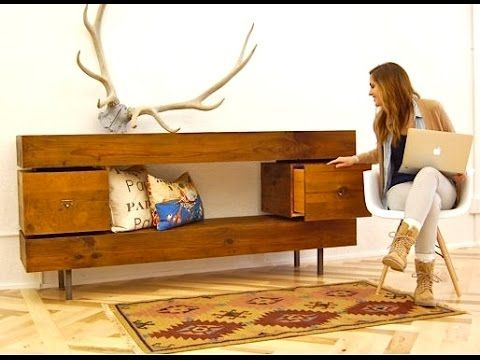 Can't tell where to purchase, but, could probably make this pretty easily · Reclaimed  Wood FurnitureReclaimed ... - 25+ Best Ideas About Unfinished Wood Furniture On Pinterest