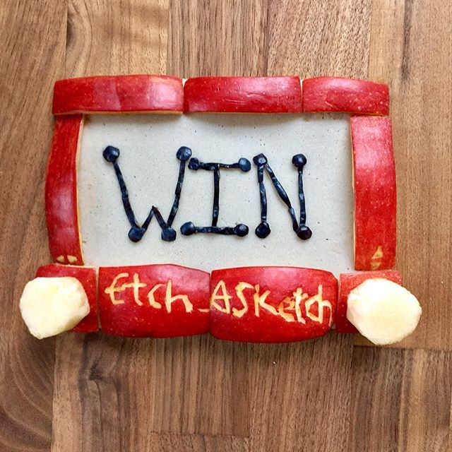 ***GIVEAWAY CLOSED*** Food Art Fun has teamed up with @itsetchasketch for A giveaway and I'M SOO EXCITED! Etch A Sketch is still one of my favorite childhood toys. I really can't think of anything that says Fun Art better than Etch A Sketch…. it may be my spirit toy! Etch A Sketch has provided a bundle of fantastic etching fun that includes: A classic, pocket, and mini Etch A Sketch as well as two official Etch A Sketch club member patches! Swipe to see everything in the slide! Enter to ...