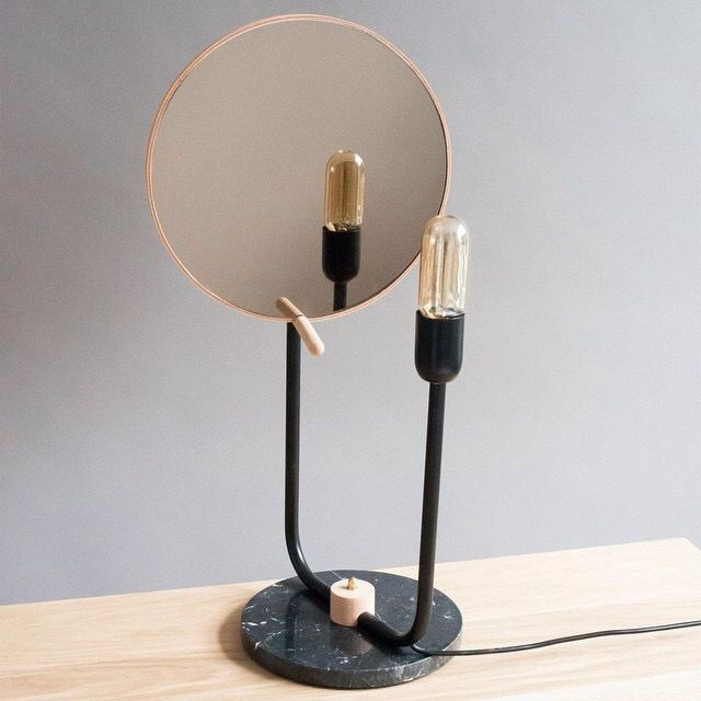 Multi functional light mirror by m oss design favorited by lightbox amsterdam