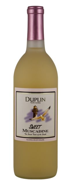 Sweet Muscadine Wine from Duplin Winery... my new fave!!!! Used it to make Sangria Margaritas the other night :-)