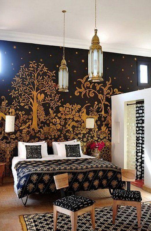 Decoracion arabe interiores elegant cama con dosel rabe - Decoracion arabe interiores ...