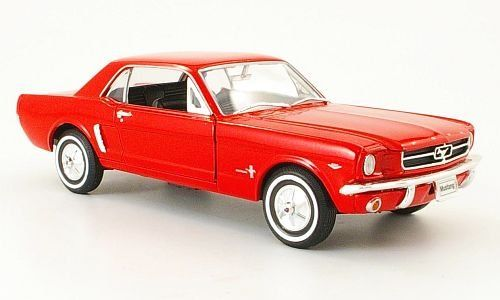 Ford Mustang Coupe 1/2 1964 rot 1:24 Welly NEX Models