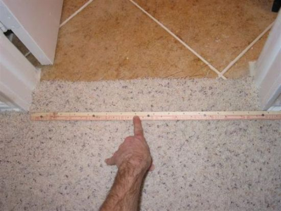 Carpet to Tile Transition-How to info - Ceramic Tile Advice Forums - John Bridge Ceramic Tile