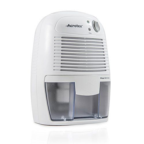 Aerotex® 500ml Quiet and Portable Mini Air Dehumidifier - Removes Excess Moisture, Condensation, Damp and Mildew from Home, Kitchen, Bedroom, Bathroom, Car Garage, Caravan (White) Aerotex® http://www.amazon.co.uk/dp/B0162UM4UU/ref=cm_sw_r_pi_dp_Mfsqwb05S3EEQ
