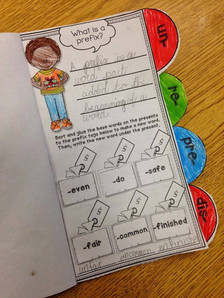 Miss Giraffe's Class: Prefixes and Suffixes Teaching Ideas ...