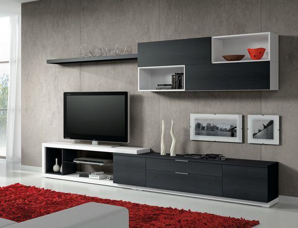 Blanco negro y rojo espacios pinterest for Presotto industrie mobili spa
