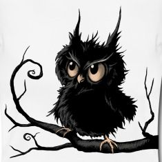 Grumpy Fogy Owl T-Shirts