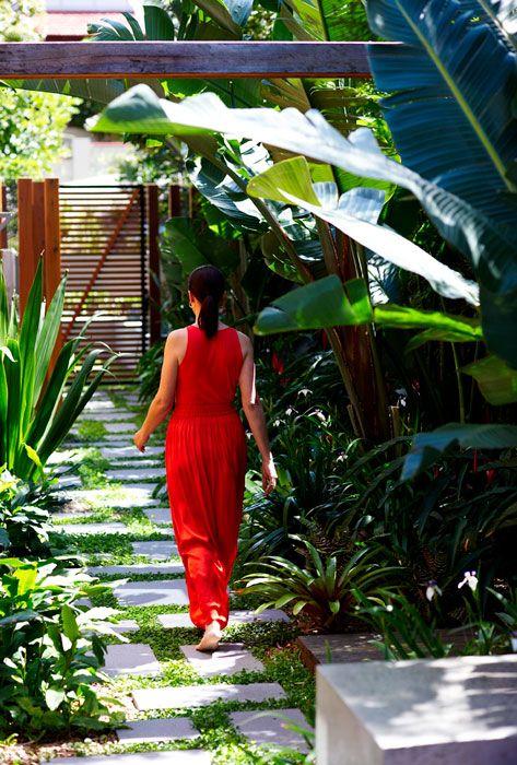 A secret oasis in Sydney | Designhunter - architecture & design blog