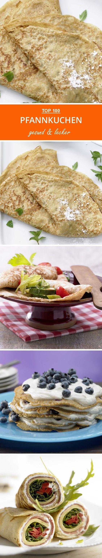 Süß zum Frühstück oder herzhaft gefüllt mit viel Gemüse zum Mittag? Hier findest du beide Varianten!