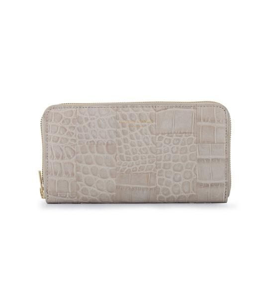 Deadly Ponies Mr Wallet - Croc Gull Grey | Quincy | quincy.com.au