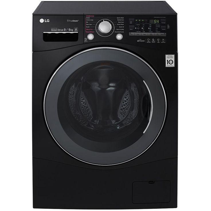 Masina de spalat rufe LG FH4A8FDH8N, 1400 RPM, 9 Kg, Clasa A, Negru