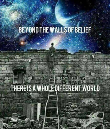If your belief is that there are no walls?