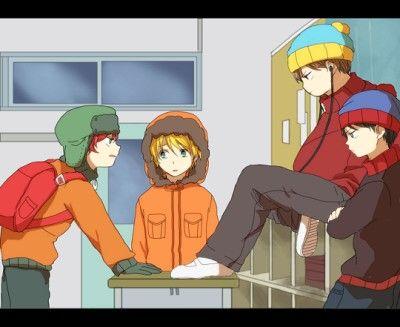 South Park anime version