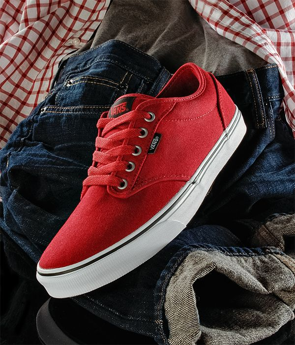 Men's Vans Casual Lace-Up Skate Shoes  The Vans Attwood skate shoe fuses a low-top look with influences from the Vans heritage performance skate shoes and the roots of the wino-style shoes worn by early street skaters.