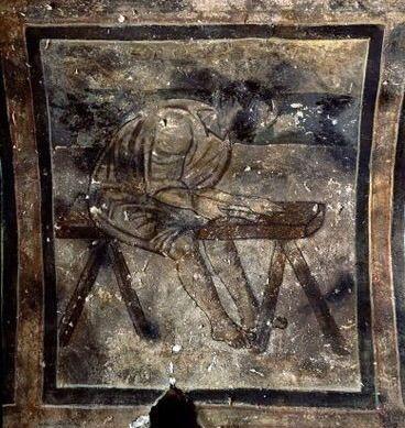 Fresco at Qusayr'Amra, 8th Century / Ummayad period