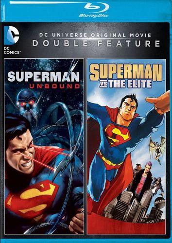 DC Universe Original Movie Double Feature: Superman Unbound/Superman Vs. the Elite [Blu-ray]