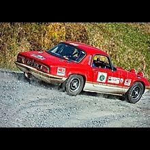 ScottishMalts Classic car rally - Lotus Elan Sprint.