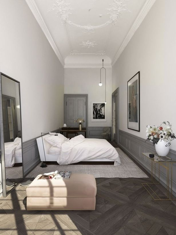 royale stuer og danmarks strste lejlighed det er hvad du fr som kber narrow bedroom ideaslong narrow bedroomlarge bedroom - Long Bedroom Design
