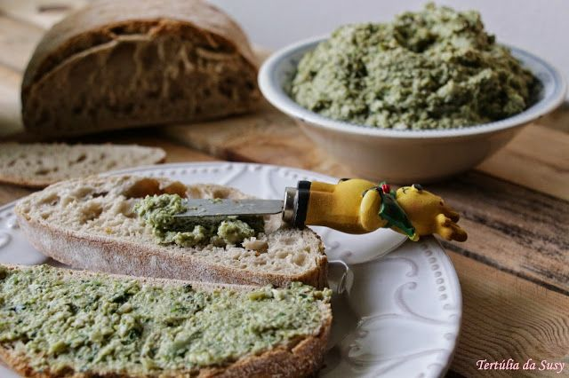 Tertúlia da Susy: Pasta de favas com gengibre
