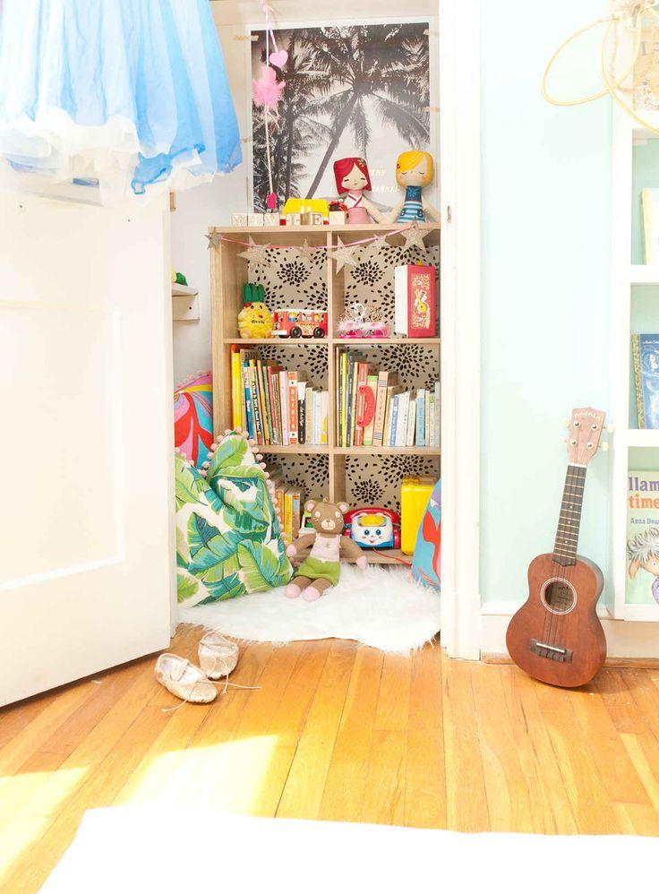 Toddler Closet Reading Nook