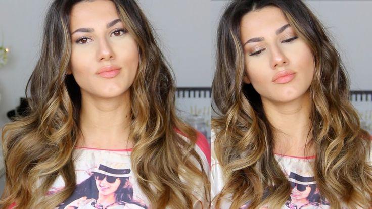 Victoria's Secret Mankenleri Tarzı Dalgalı Saç Yapımı