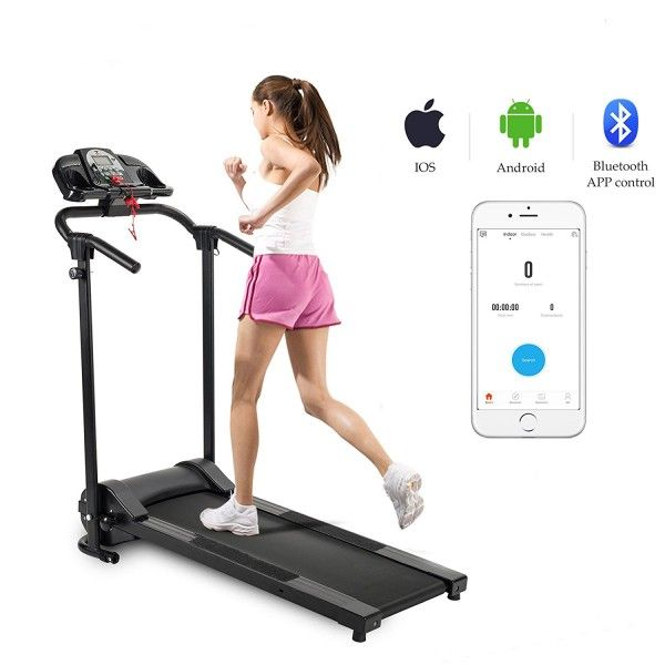 ZELUS Folding Treadmill Electric Motorized Running Machine