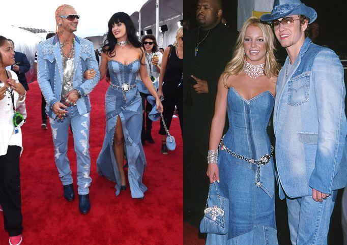 Katy Perry & Riff Raff recriando cena de Britney Spears e Justin Timberlake