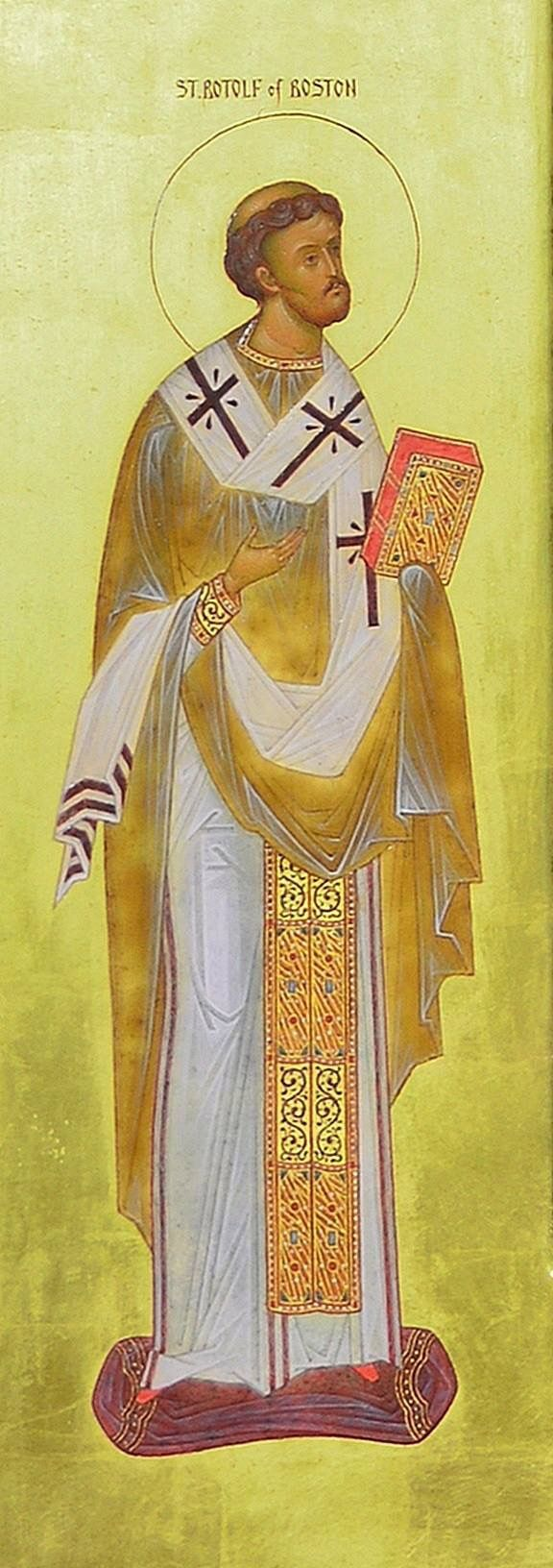 St. Botolph, an early saint from Orthodoxy's Western heritage, preached the gospel in England in the seventh century. Saint Botolph was born in England around 610.  The feast of St. Botolph is celebrated June 17.
