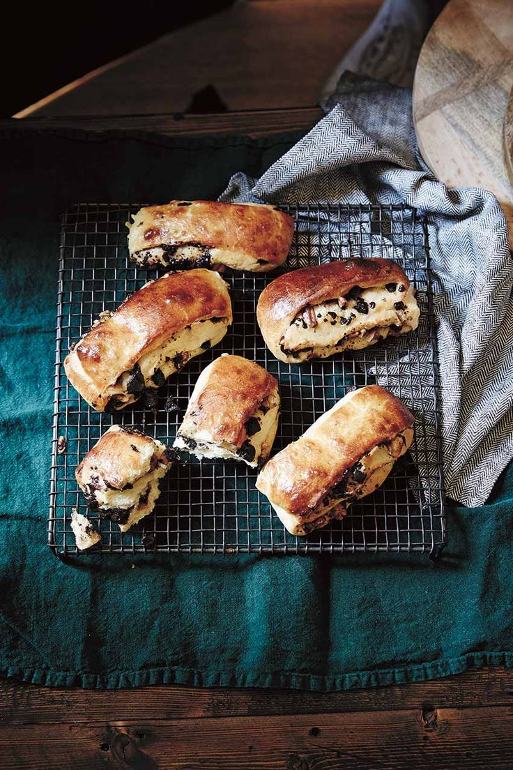 Buttery Chocolate and Sour Cherry Brioche Buns + Giveaway – Design*Sponge