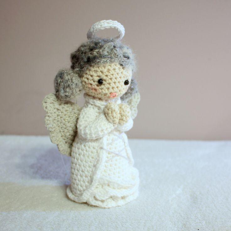 Amigurumi angel  #amigurumi #amigurumis #angel #crochet #christmas #anioł #szydełkowy #aniołek