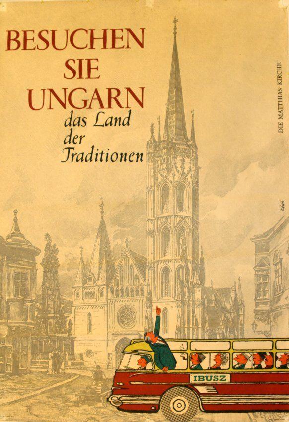 Besuchen sie Ungarn, das land der traditionen - 1960's - (Bano) -