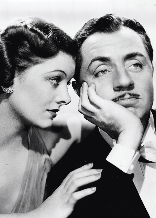 William Powell and Myrna Loy--The Thin Man