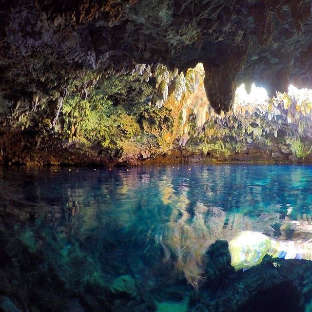Cabagnow Cave Pool, Bohol. Philippines
