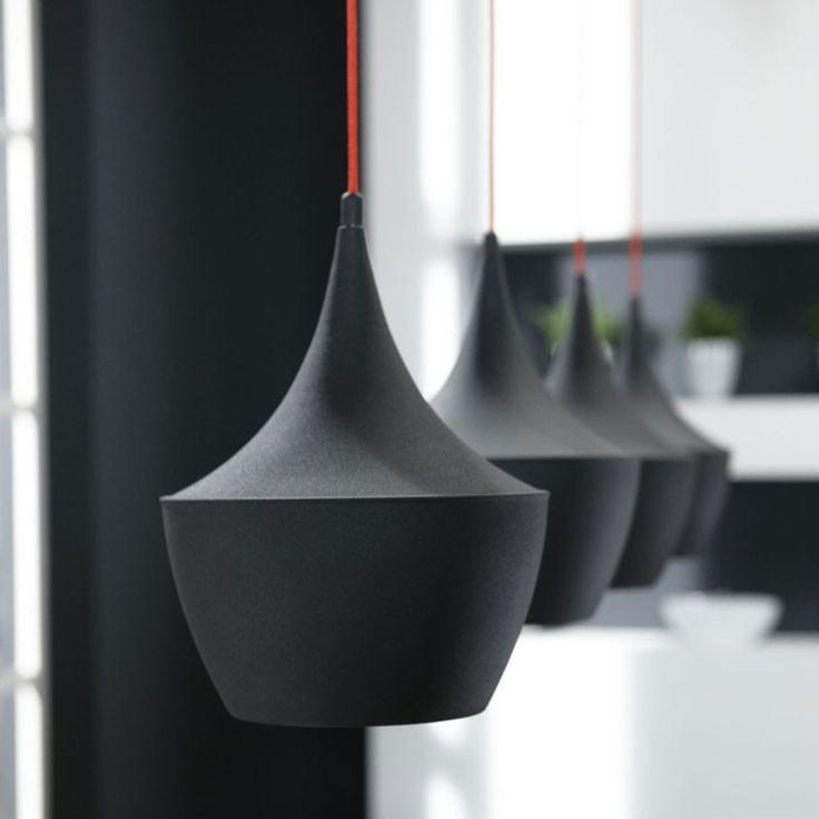 Davidi Design Hanglamp Ova Zwart