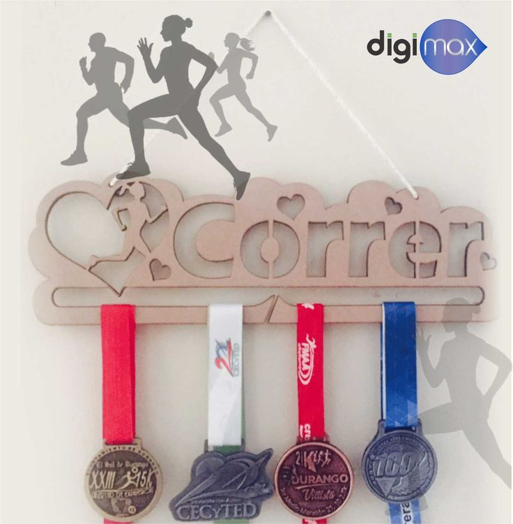 Medallero de Corredora en MDF