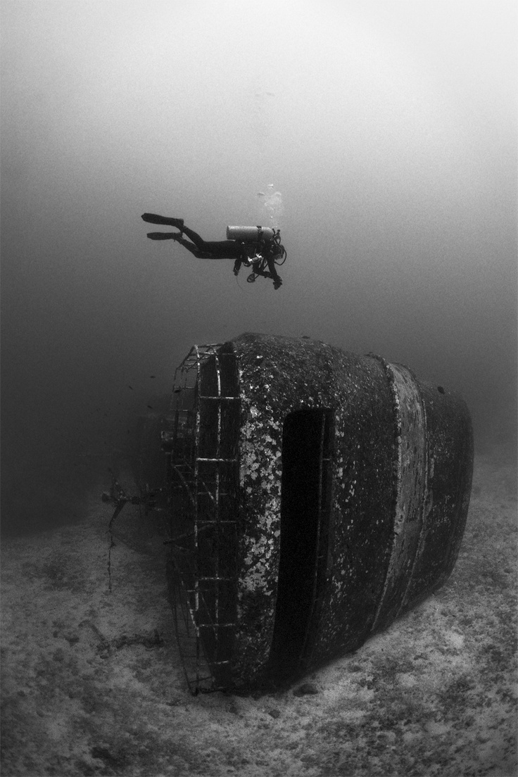"""""""Rails"""" by Pongsatorn Sukhum - underwater fine art photography"""