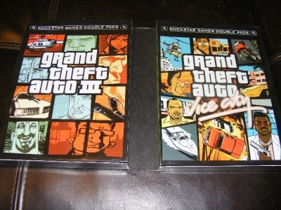 Xbox GTA Grand Theft Auto Double Pack III Vice City