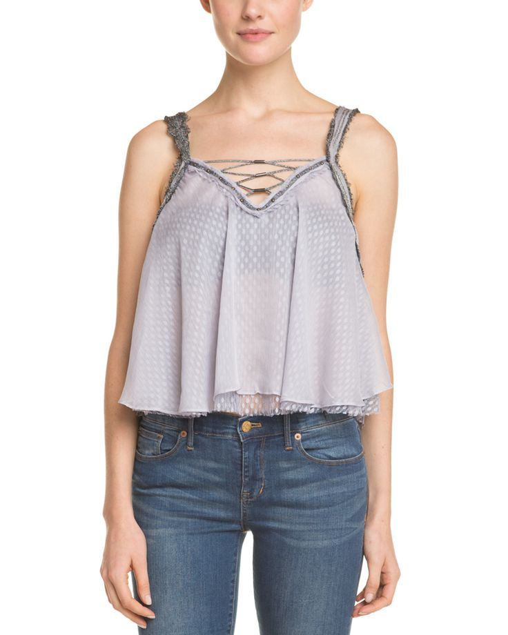 Spotted this Free People Coasting On A Dream Dolphin Blue Cropped Tank on Rue La La. Shop (quickly!).