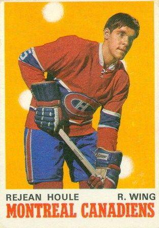 Rejean Houle - Montreal Canadiens, 1970-71 O-Pee-Chee rookie card.