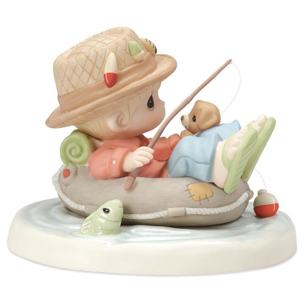 Precious Moments® Good Things Come to Those Who Wait Fisherman Figurine
