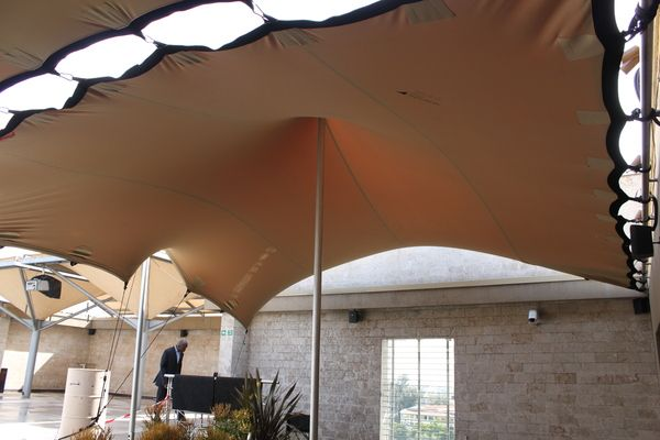 Sankara Hotel (Condé Nast listed) - Rooftop Canopy by Nomadic Tents , via Behance