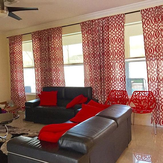 Bedroom Bench Sale Bedroom Ideas Chic Elegant Bedroom Wall Decor Red Bedroom Interior: Red Curtains Living Room, Red Living Room Decor And