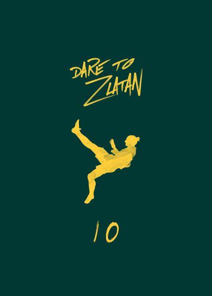 Paintcollar:Dare To Zlatan available as Phone case| Mobile cover| Zlatan,ibrahimovic,ibra,football,soccer,PSG,fifa