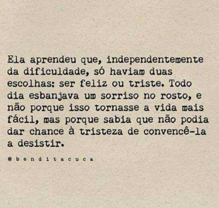 Deixe a felicidade vencer