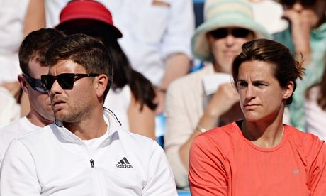 Andy Murray happy to take Wimbledon title defence in his relaxed stride Wimbledon champion is delighted with his new coach, Amélie Mauresmo, and looking forward to the coming fortnight        http://www.theguardian.com/sport/2014/jun/20/andy-murray-wimbledon-title-defence-amelie-mauresmo