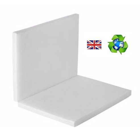 PreciousLittleOne Non Allergic Eco Fibre Folding Travel Cot Mattress (119x59)