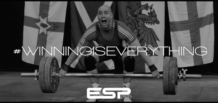 ESP Fitness Motivation. Winning Is Everything with ESP Founder & Former GB Weightlifting Olympian Tommy Yule