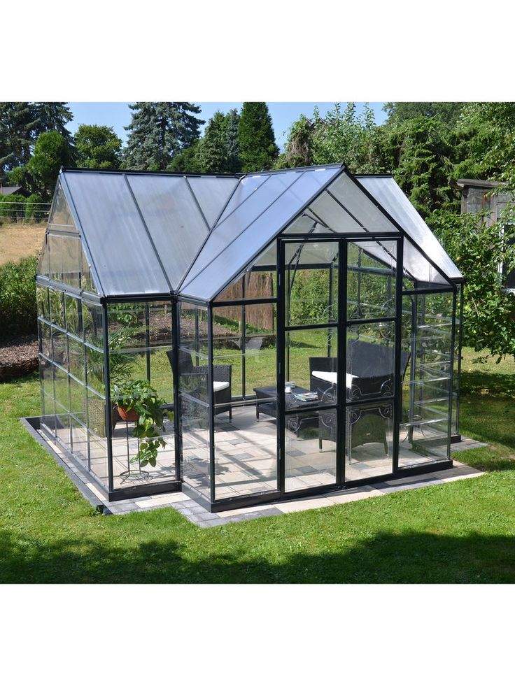 Orangery Greenhouse - Is there some way to make a combo pergola/greenhouse?