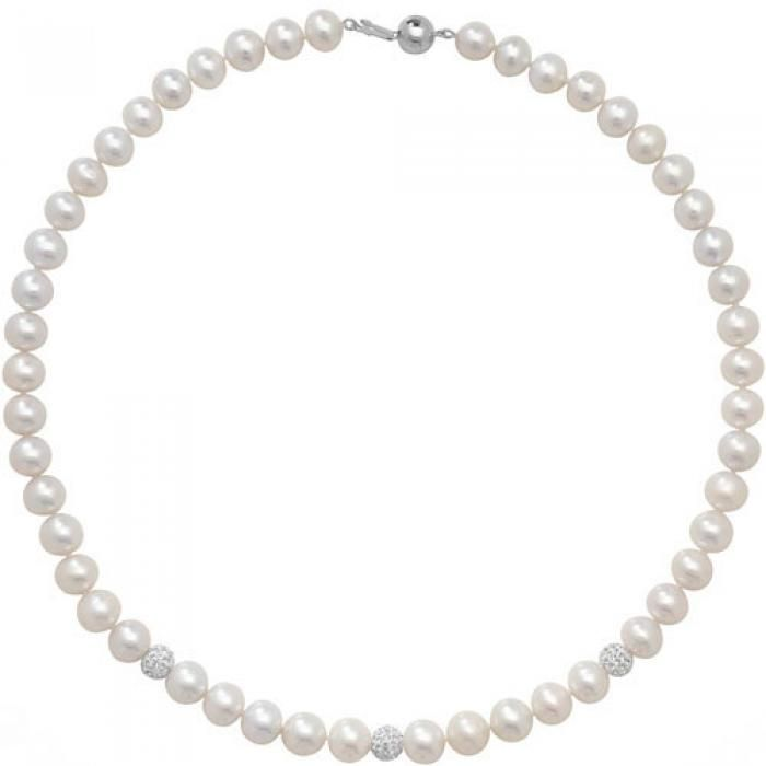 "SINGLE ROW 17"" FRESHWATER PEARL NECKLACE - Attenborough Pawnbrokers & Jewellers"
