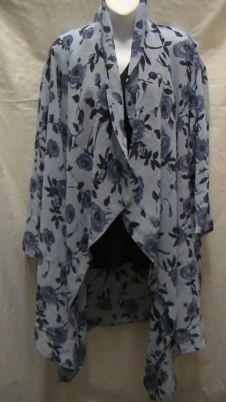 This is a Large Chiffon Light Weight Jacket that I make and sell on line and at the markets